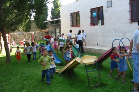 association amis-creche bethleem 2006-2007 Jardins enfants 1