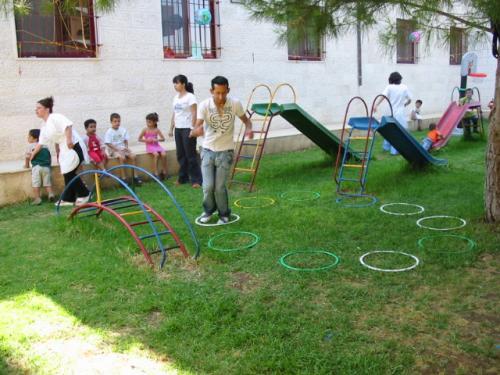 association amis-creche bethleem camp ete 2